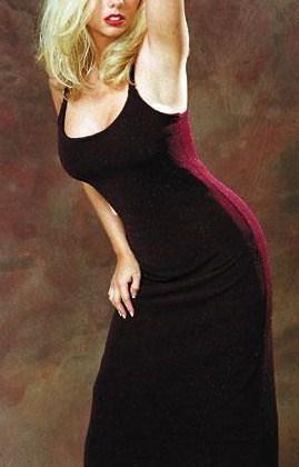 Haley red dress